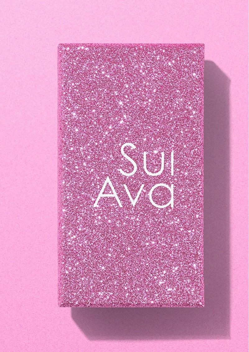 SUI AVA Alexis Crystal Tassel Earrings - Multi main image