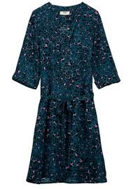 Pyrus Valetta Silk Dress - Animal Blue