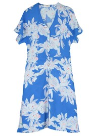 Pyrus Francine Silk Dress - Line Floral