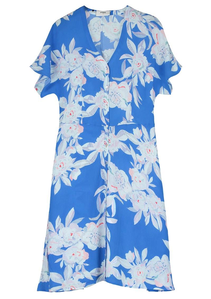 Pyrus Francine Silk Dress - Line Floral main image