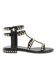 56c0331e7376 Ash Power Studded Sandal - Black