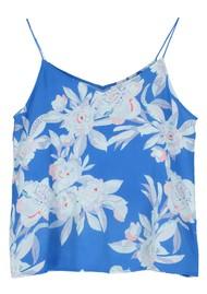 Pyrus Belitis Silk Cami Top - Line Floral