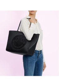 HILL & FRIENDS Slouchy Tote - Liquorice Black