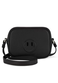 HILL & FRIENDS Happy Mini Camera Bag - Liquorice Black