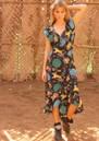 STARDUST Salsa Dress - Black