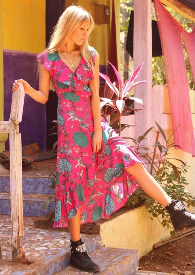 STARDUST Salsa Dress - Pink main image