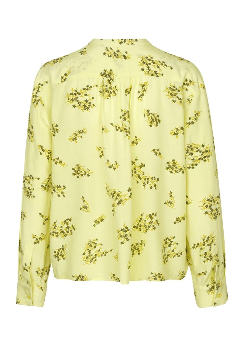 SAMSOE & SAMSOE Elmy Shirt AOP - Yellow main image