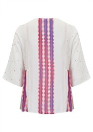 Mercy Delta Bodiam Silk Top - Navajo Honeysuckle