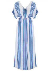 Mercy Delta Mansfield Maxi Dress - Apache Bluebell