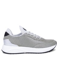 WODEN Thea Mesh Trainers - Sea Fog Grey
