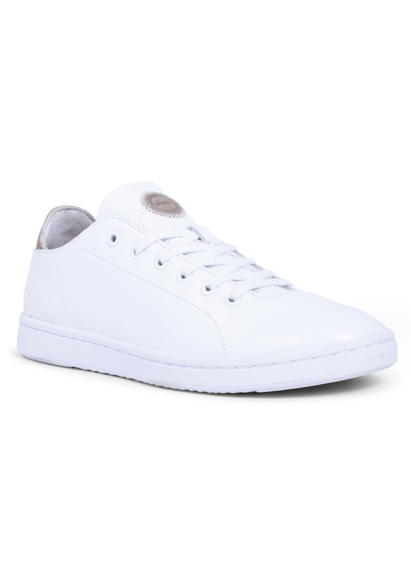 WODEN Jane Leather Trainers - Bright White main image