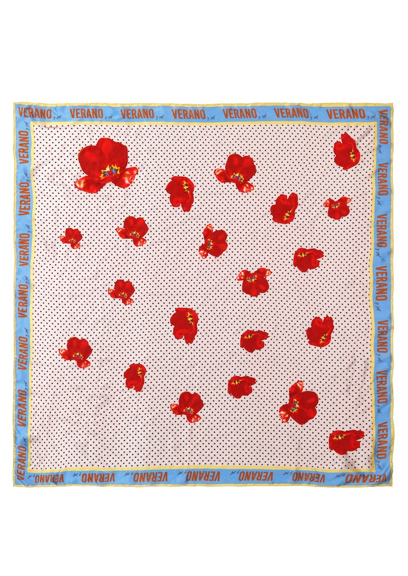 Becksondergaard Carlos Silk Printed Scarf - Multi main image