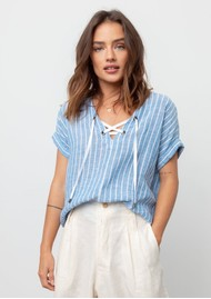 Rails Jeri Top - St Germain Stripe
