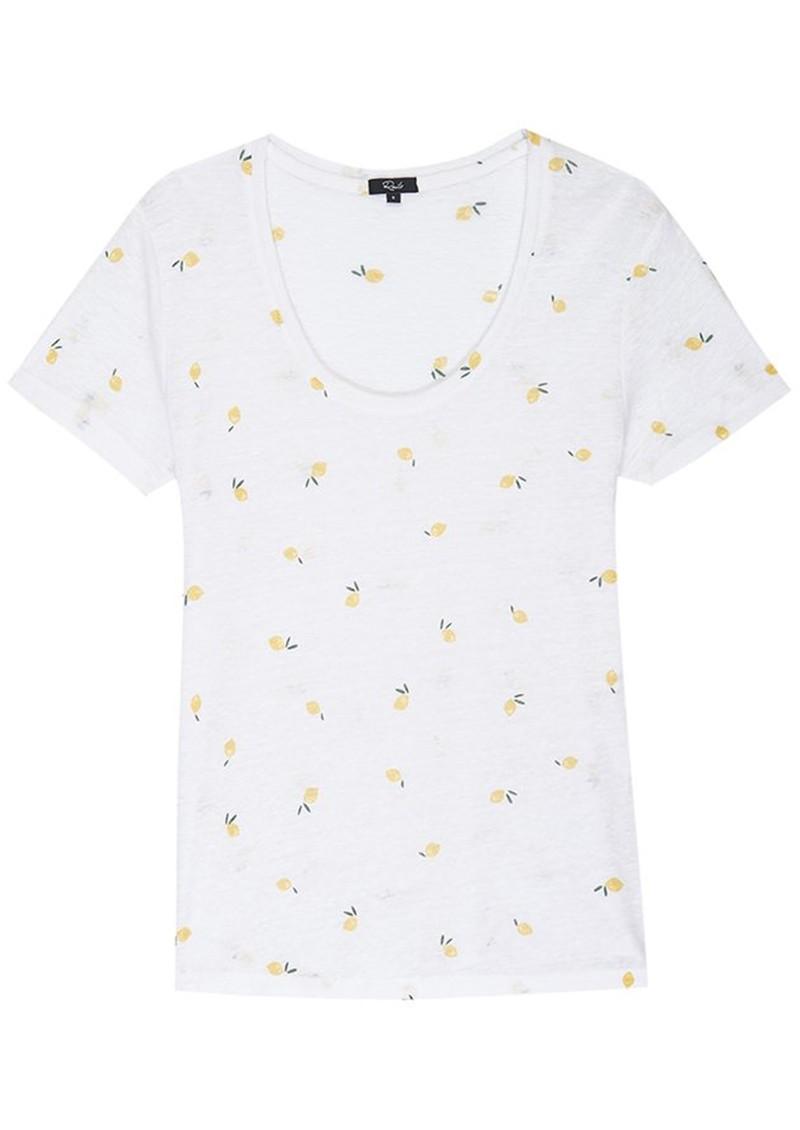 Rails Luna T-Shirt - Citron main image