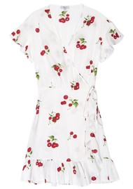 Rails Koreen Wrap Dress - Cherry Bloom