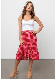 Rails Lizzy Skirt - Cherry White