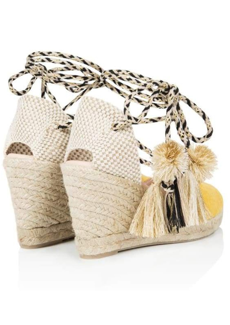 Shimmie Espadrille Wedge - Yellow main image
