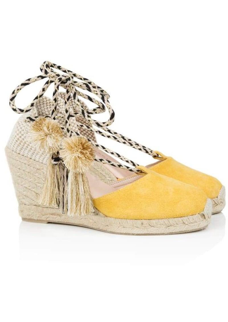 AIR & GRACE Shimmie Espadrille Wedge - Yellow main image