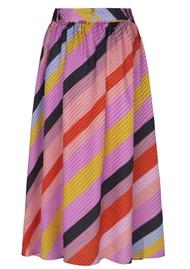 STINE GOYA Audrey Silk Skirt - Parallels