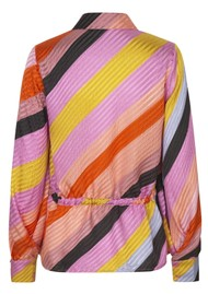 STINE GOYA Faith Silk Shirt - Parallels