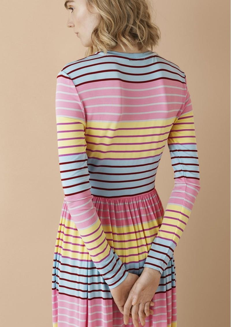 STINE GOYA Joel Dress - Stripes main image