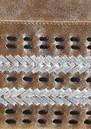 NOOKI D'Souza Leather Clutch Bag - Gold