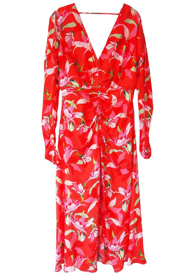 TALULAH Daiquiri Midi Printed Dress - Strawberry main image