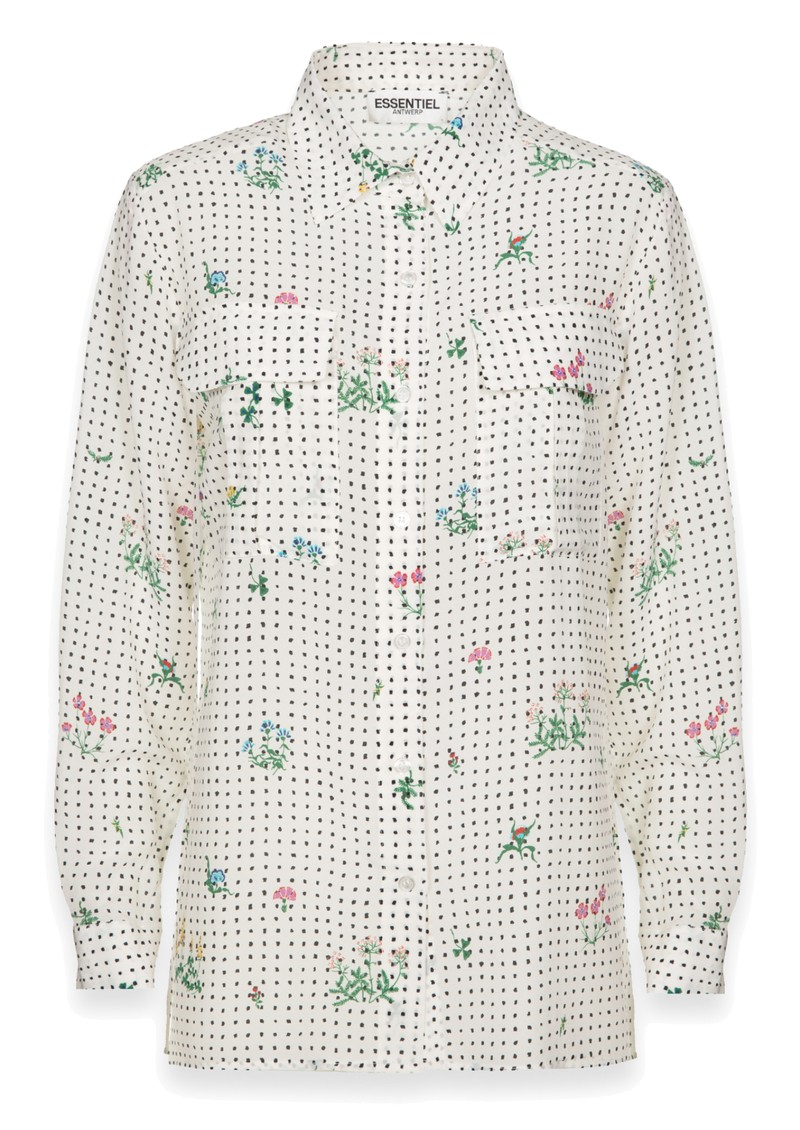ESSENTIEL ANTWERP Trail Shirt - White main image