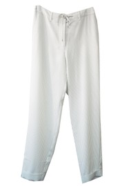 ESSENTIEL ANTWERP Tobago Stripe Tapered Trousers - Combo 1 & White