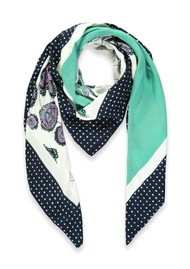 ESSENTIEL ANTWERP Talent Printed Scarf - Off white