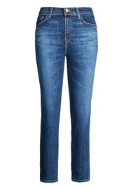 J Brand Ruby High Rise Cropped Cigarette Jeans - Arcade