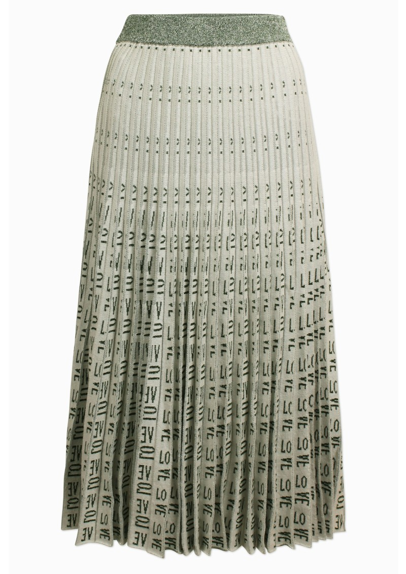 Cyrilla Skirt - Cream Green Love main image