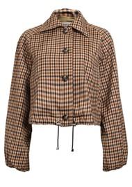 BAUM UND PFERDGARTEN Blair Jacket - Nougat Check