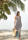 Mombasa Halterneck Maxi Dress - Snake Print additional image