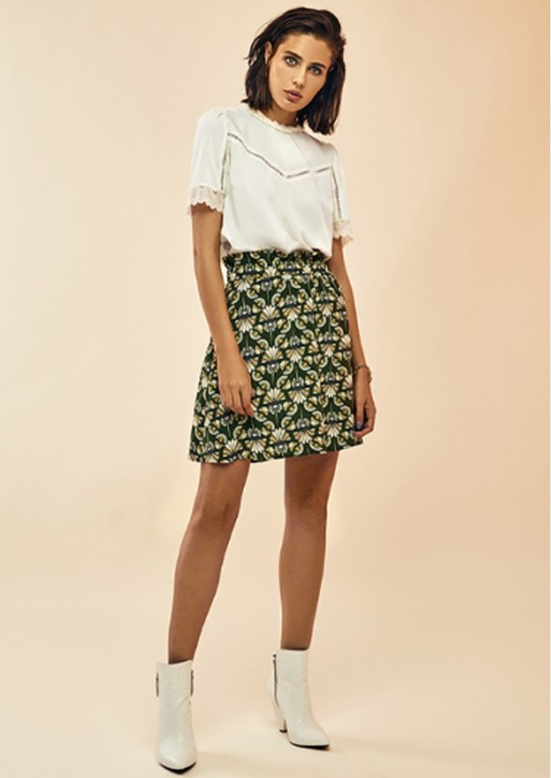 DANTE 6 Frannie - Deco Skirt - Forest Green main image