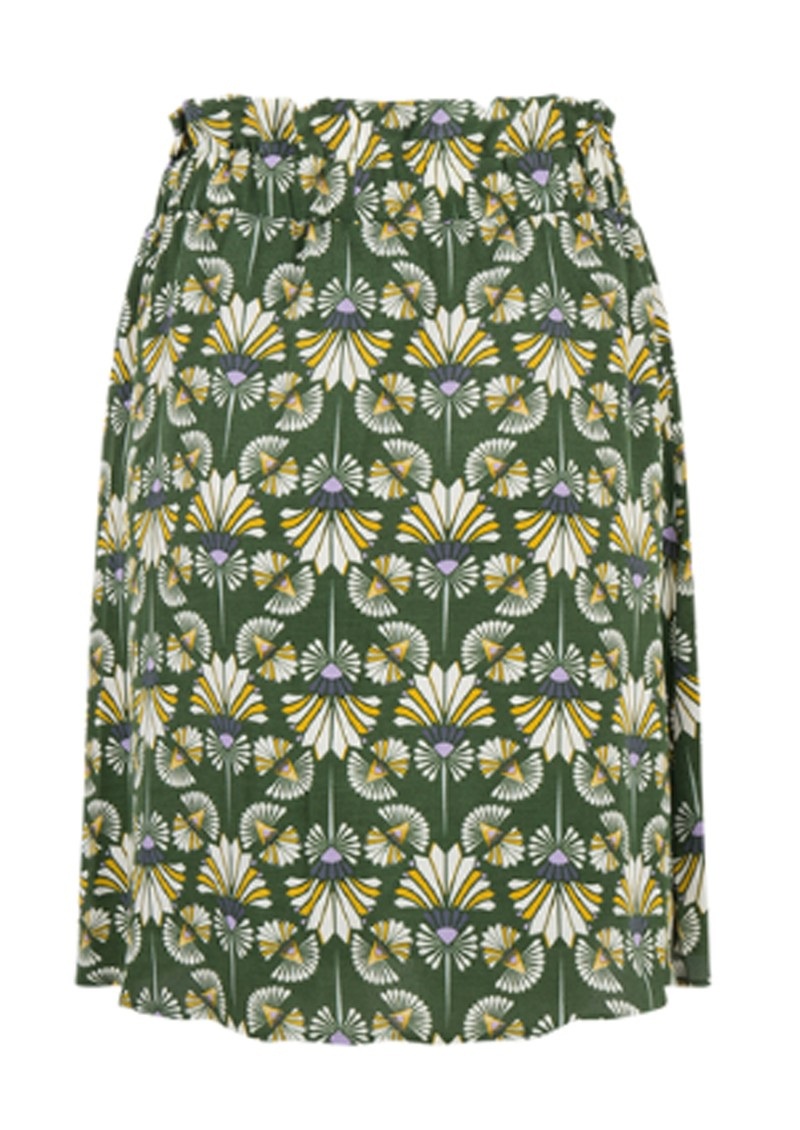 Frannie - Deco Skirt - Forest Green main image