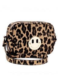 HILL & FRIENDS Happy Mini Camera Bag - Leopard