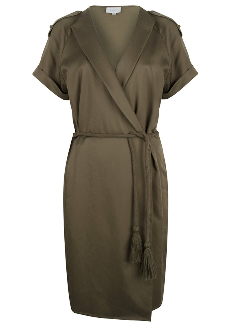 Vance Dress - Soft Olive main image