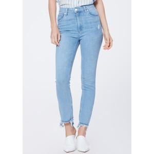 Sarah Slim Straight Leg Jeans - Mako Distressed