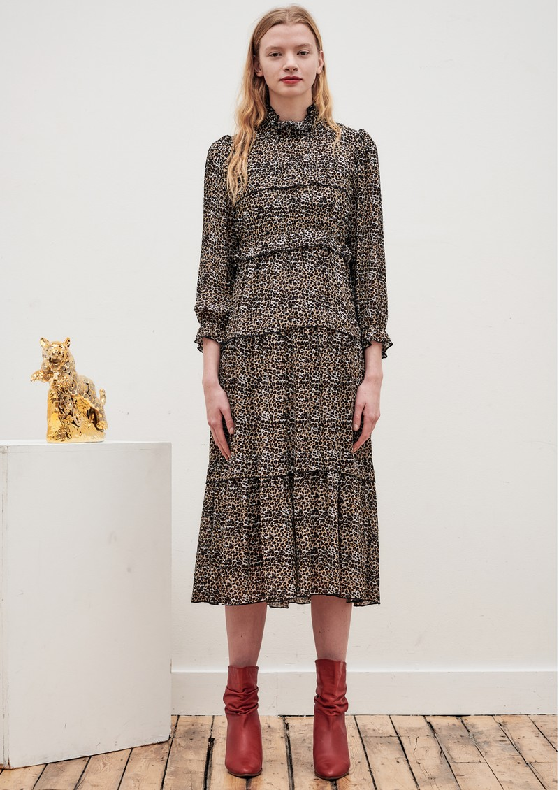 OLIVIA RUBIN Ines Dress - Leopard main image
