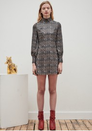 OLIVIA RUBIN Melissa Sequin Dress - Leopard