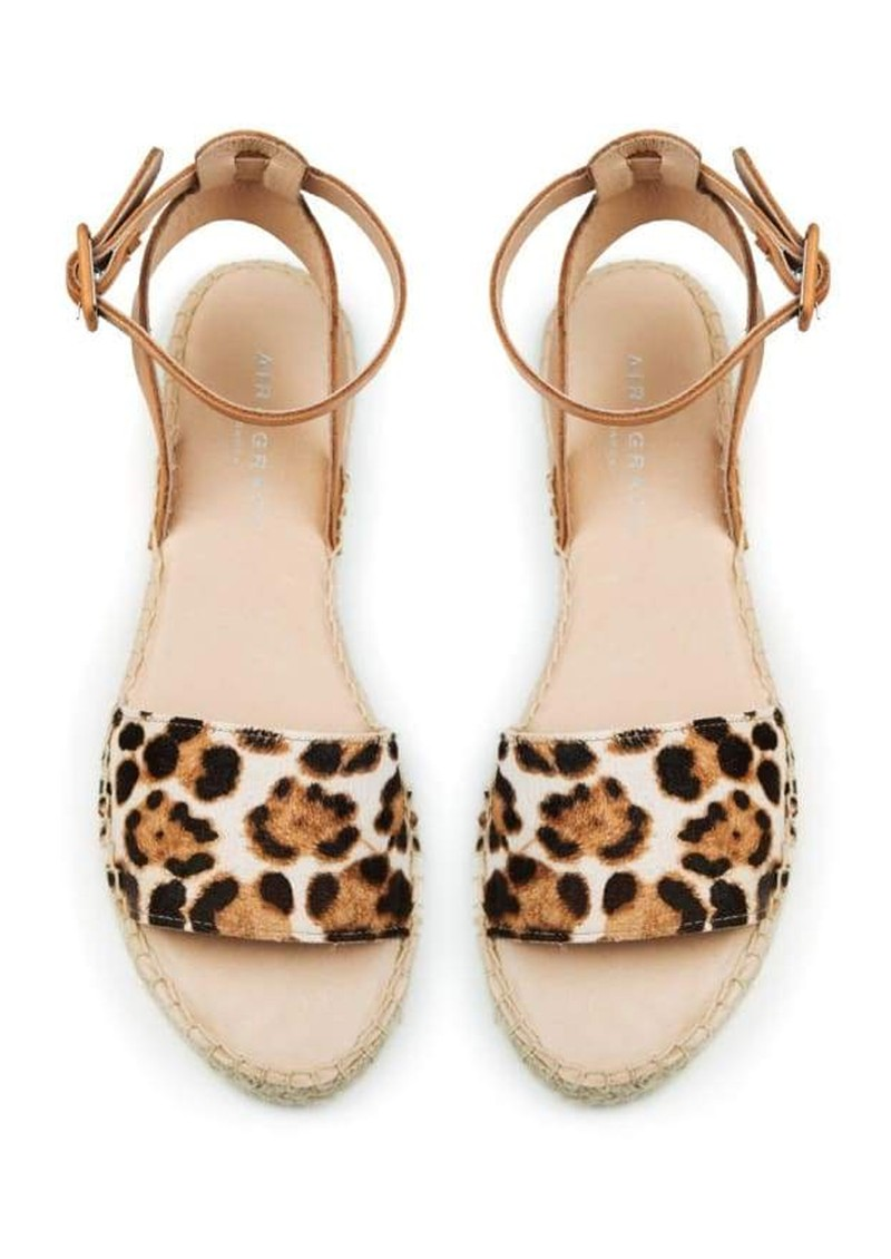 AIR & GRACE Altea Espadrille Sandal - Leopard main image