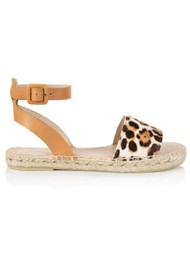 AIR & GRACE Altea Espadrille Sandal - Leopard