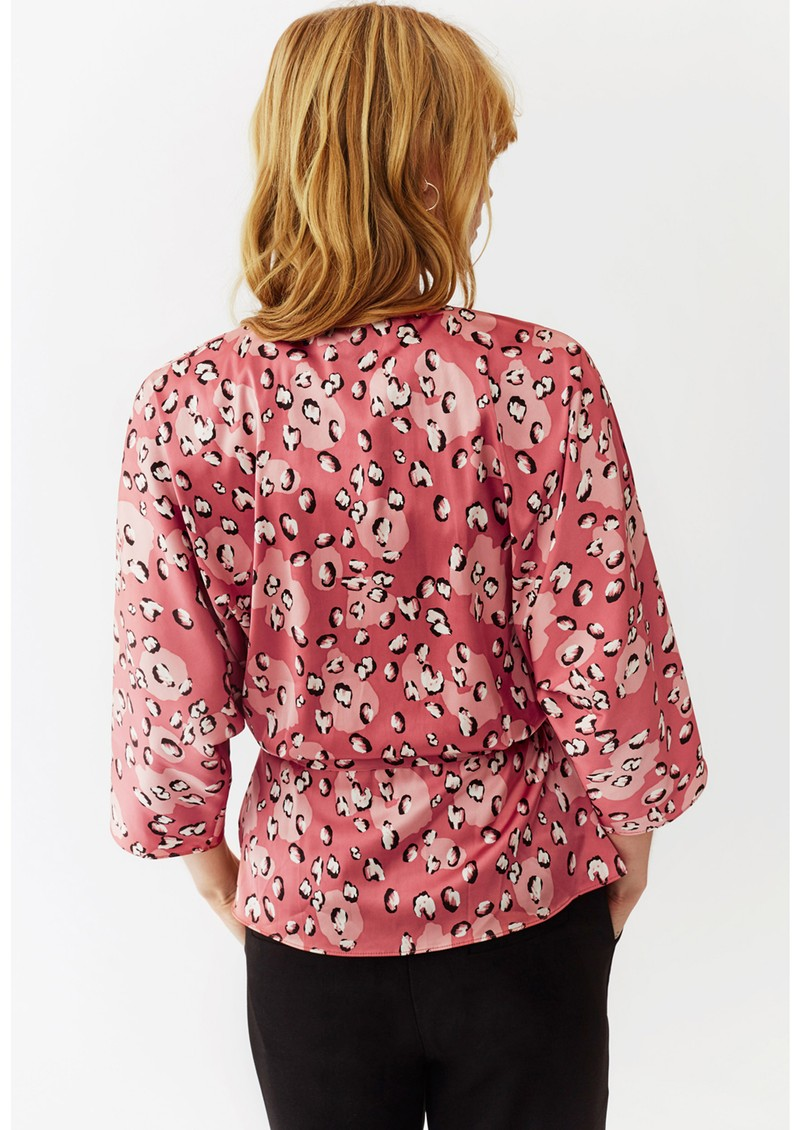 Twist and Tango Georgina Blouse - Mini Rose Leo main image