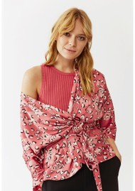 Twist and Tango Georgina Blouse - Mini Rose Leo