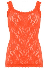 Hanky Panky Unlined Lace Cami - Tangelo