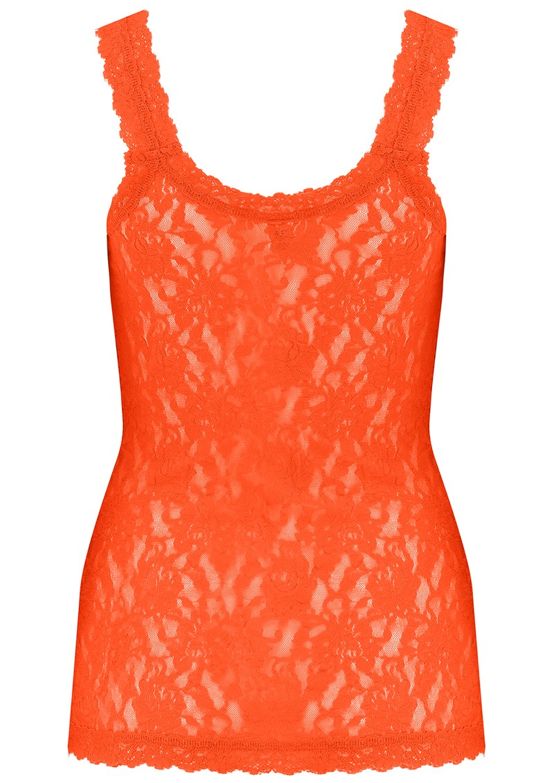 Hanky Panky Unlined Lace Cami - Tangelo main image