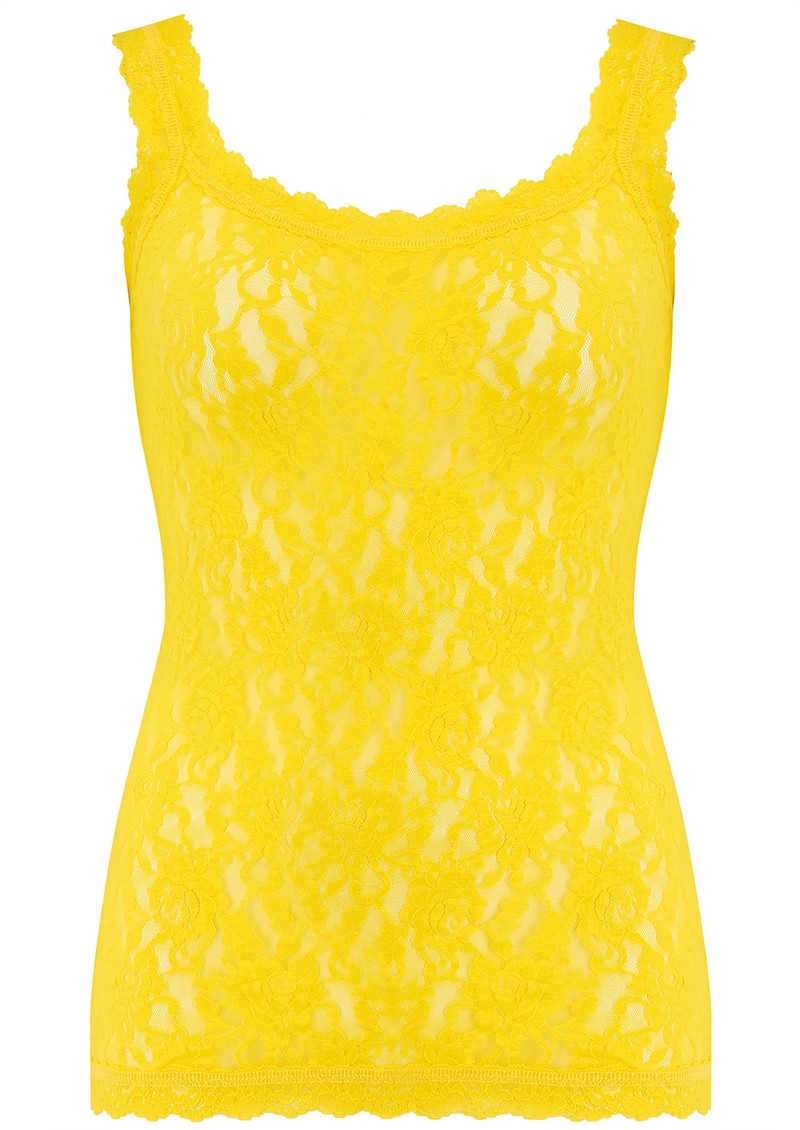 Unlined Lace Cami - Sunshine main image