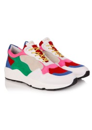 AIR & GRACE Cosmic Trainers - Multi Suede