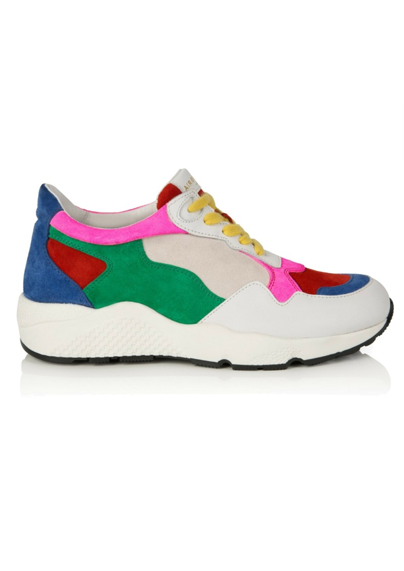 AIR & GRACE Cosmic Trainers - Multi Suede main image